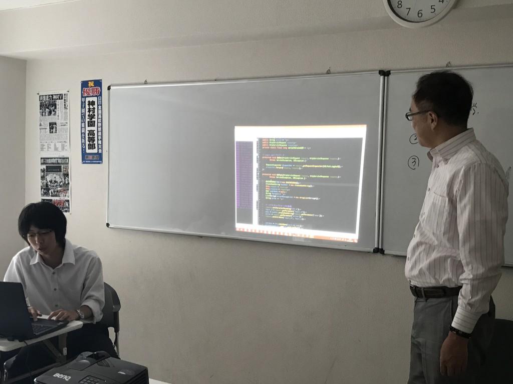 プログラマ説明会(^o^)