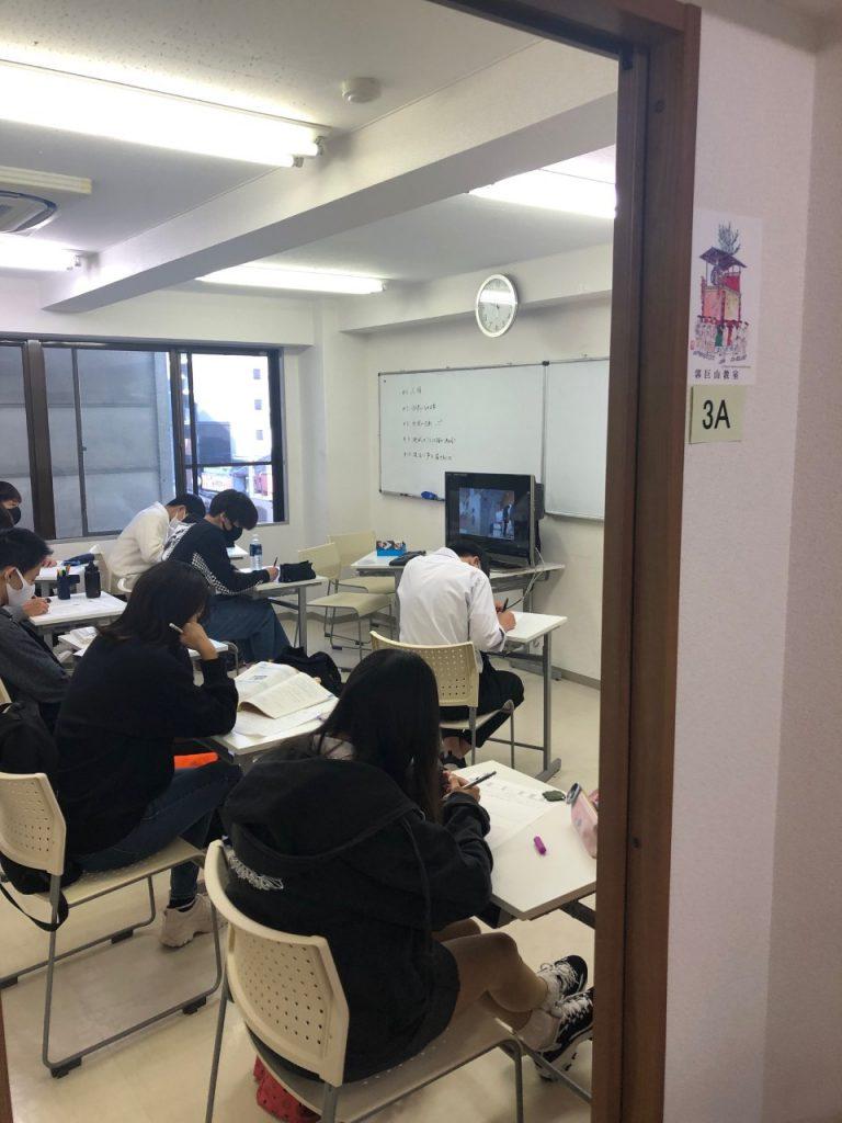 神村学園高等部京都学習センターでの日常
