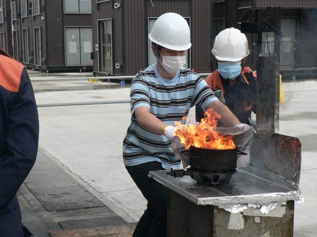 消防訓練体験教室 実施報告